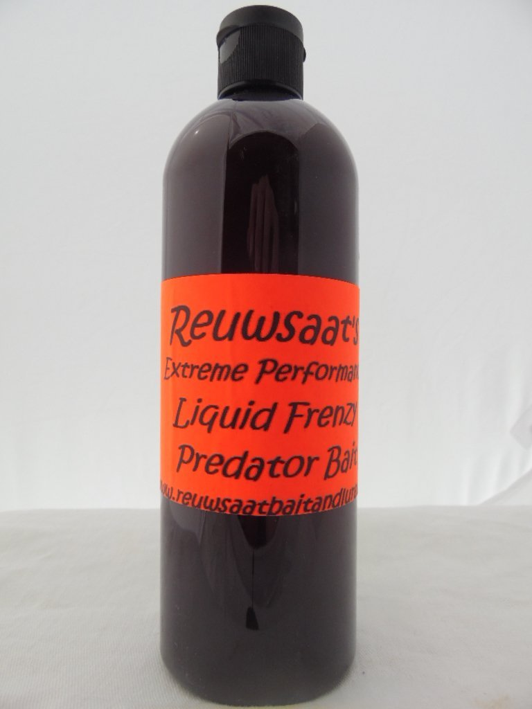 Reuwsaat's - Liquid Frenzy Predator Bait - 16 oz-Trap Shack Company