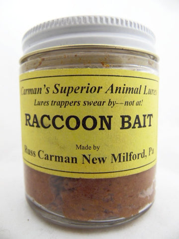 Carman's - Raccoon Bait - 4oz Bait
