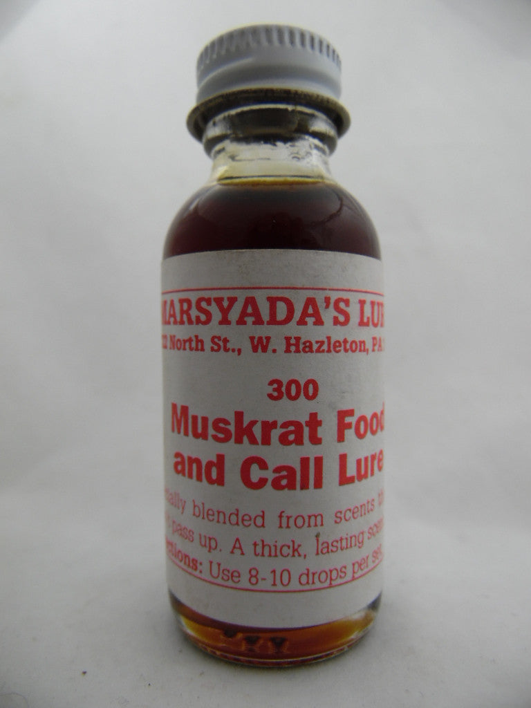 Marsyada's - Muskrat Food and Call Lure #300 - 1oz Lure-Trap Shack Company