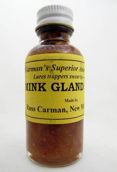 Carman's - Mink Gland Lure - 1oz Lure-Trap Shack Company
