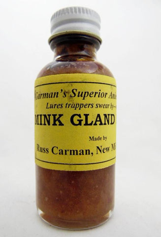 Carman's - Mink Gland Lure - 1oz Lure