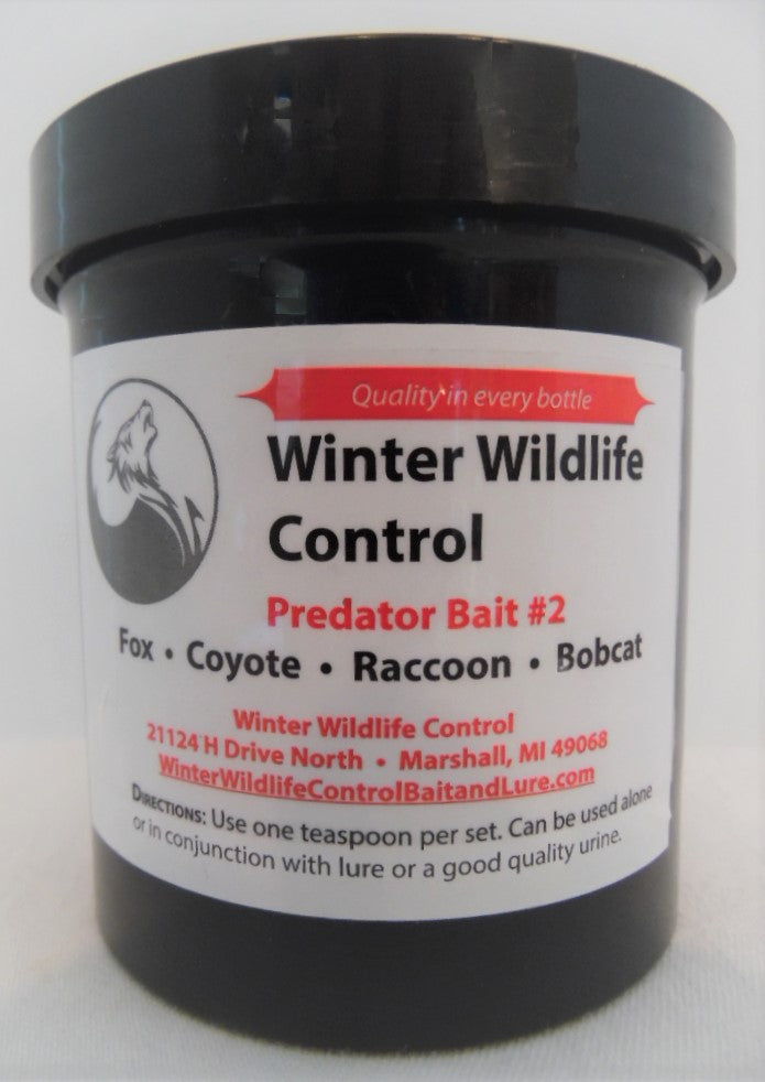 Winter Wildlife Control - Predator Bait #2-Trap Shack Company