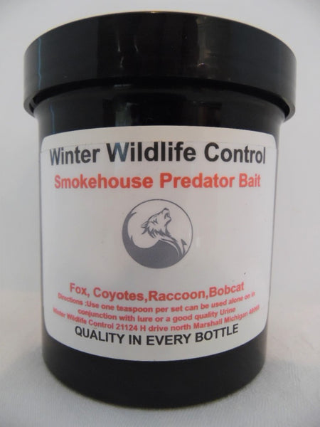 Winter Wildlife Control - Smokehouse Predator Bait-Trap Shack Company