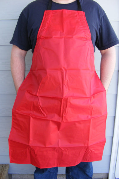 Wiebe Skinning Apron-RED-Trap Shack Company