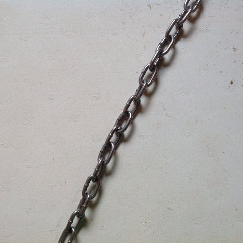 #3 Straight-Link Chain - USA (per ft.)