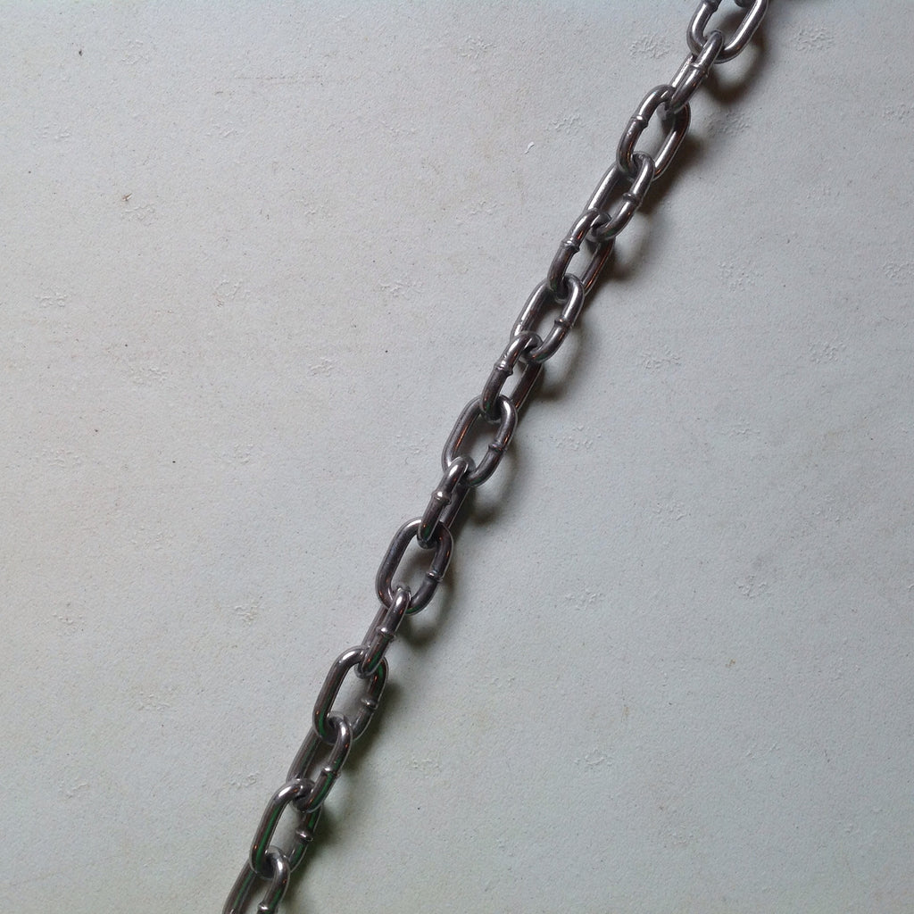 #5 Straight Link Select Chain - USA (per ft.)-Trap Shack Company