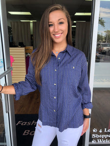 Columbia Button Down - Large