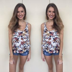 Soft & Sexy Floral Tank