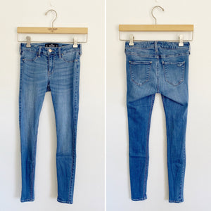Hollister light-wash Skinny Jean Jeggings 1R