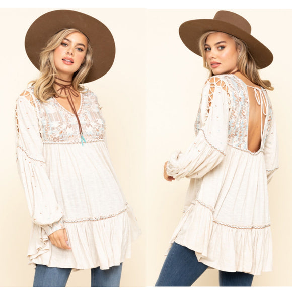 Free People Much Love Tunic NWT XS