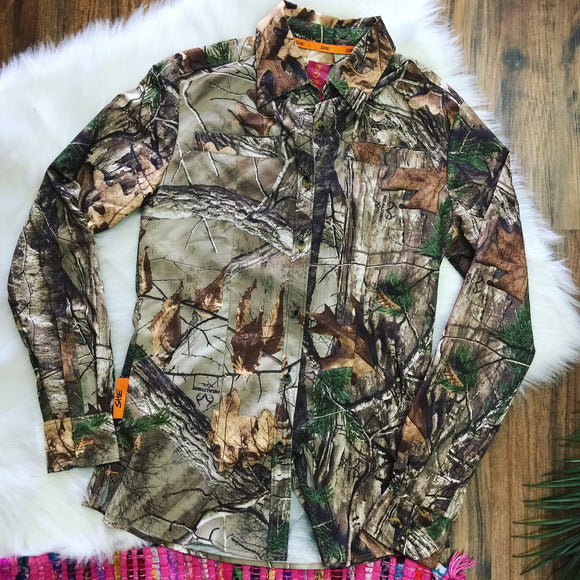RealTree Camo Button Down