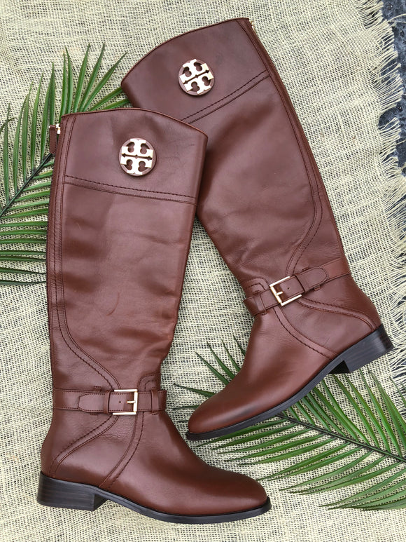 Tory Burch Leather Boots - Size 7