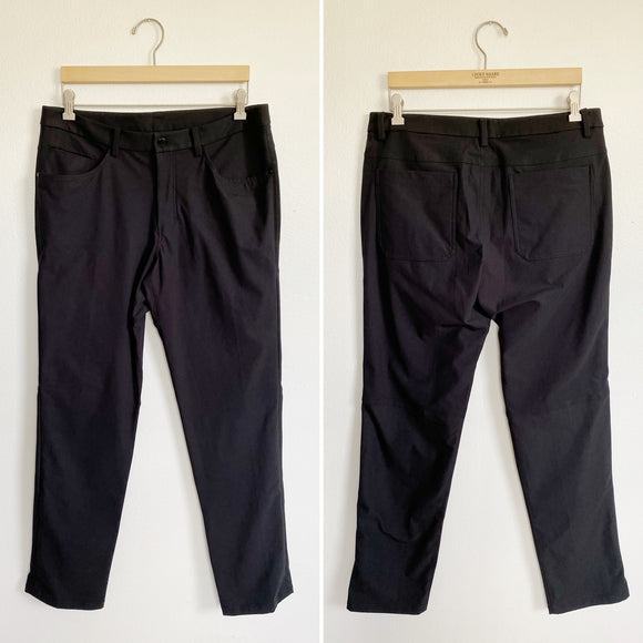 Mens Lululemon Black Pants New 34