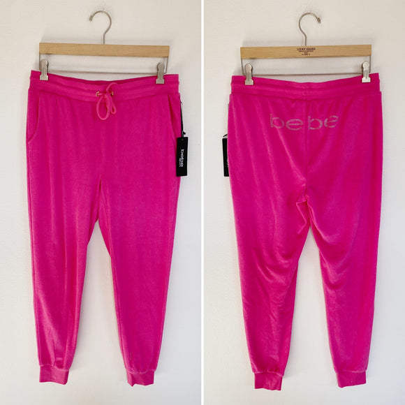 Bebe Sport Jogger Sweatpants NWT Medium