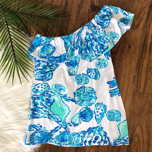 Lilly Pulitzer One Shoulder - XS