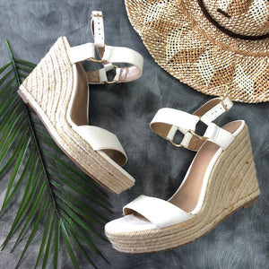 Summer White Wedge - 7.5