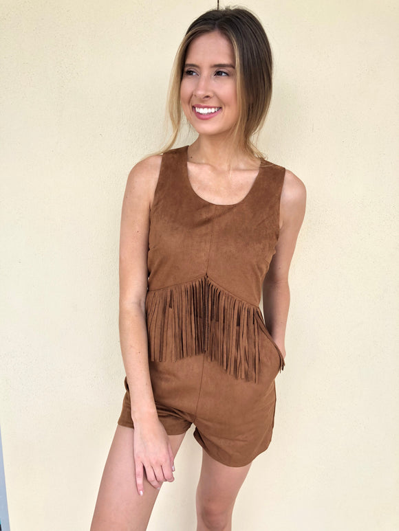 Tribal Goddess Romper - Small