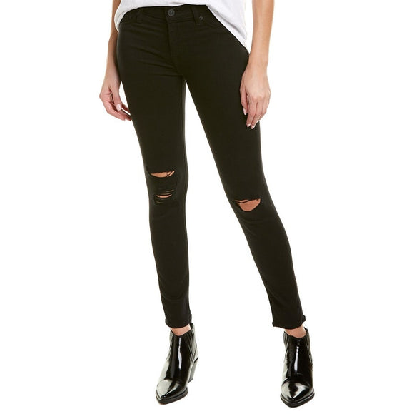HUDSON Midrise Ankle Natalie Super Skinny Jeggings New 29