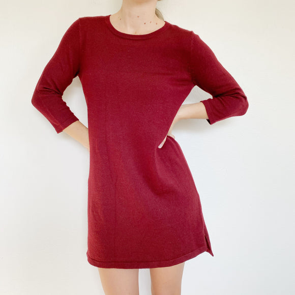 Forever 21 Cabernet Sweater Dress Small