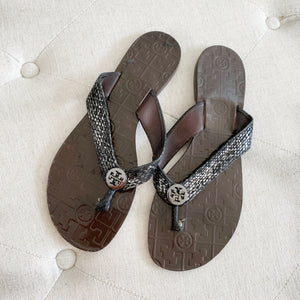 Tory Burch Thong Sandals 10