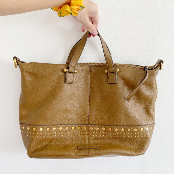 Vince Camuto Leather Suede Satchel Bag