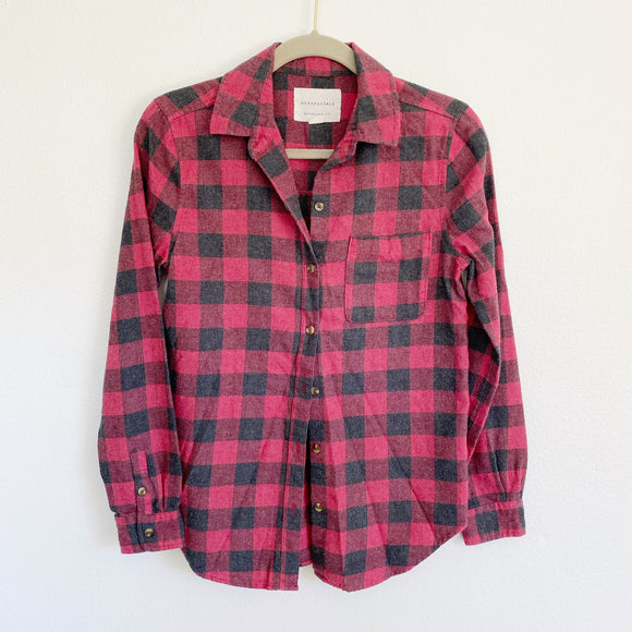 AERO the Boyfriend Fit Flannel XS
