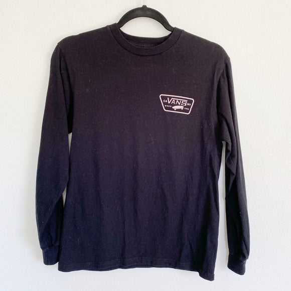 Vans off the wall Graphic Long Sleeve Small