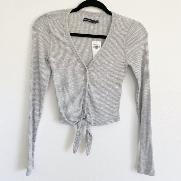 Abercrombie & Fitch Henley Long Sleeve Top XS