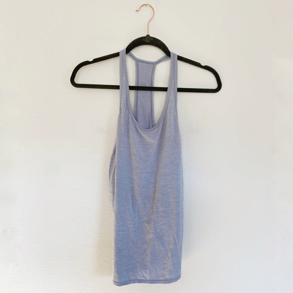 Z by Zella Light Purple Racerback Active Tank Large
