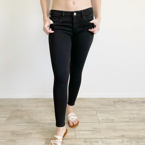American Eagle Super Stretch Black Jean Jeggings 4