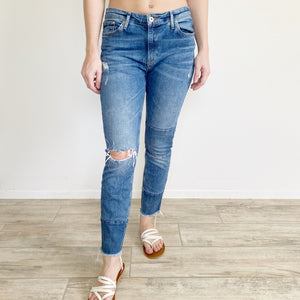Label of Graded Goods Ankle Jeans by H&M 29