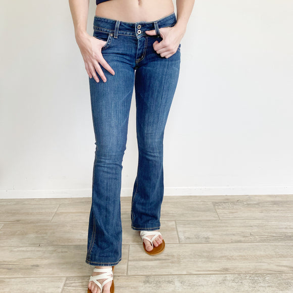 Hudson Bootcut Low Rise Jeans 27