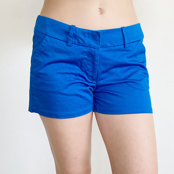 Mossimo Blue Cotton Shorts Size 8