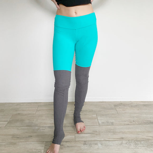 Alo Yoga Aqua Goddess Leggings Small