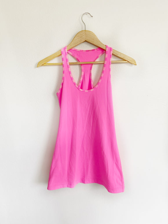 Lululemon Hot Pink Cool Racerback ll - Medium