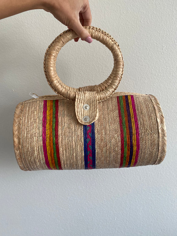 Straw Purse New with tags
