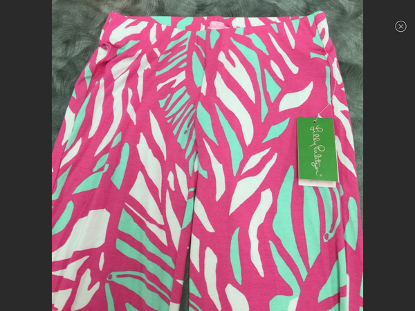 Lilly Pulitzer Papaya Playa Georgia May Palazzo Pants