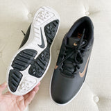 NIKE Golf Fitsole Sneakers Black & Rose Gold Sneakers 8.5 New