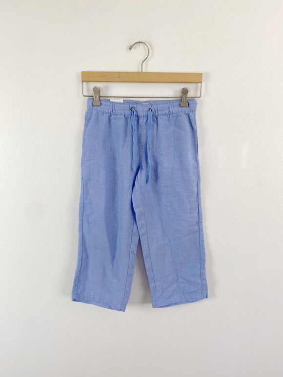 DA-SH Linen Crop Pants NWT Medium petite