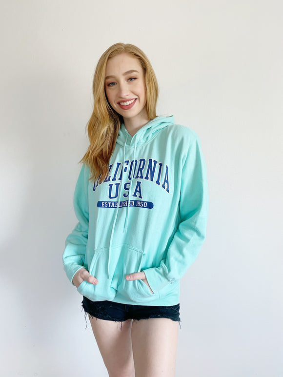 California Point Fleece Hoodie Medium