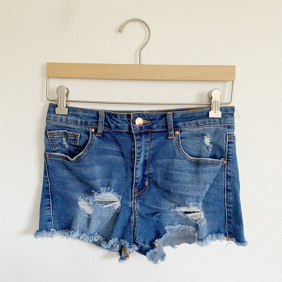Forever 21 Hi-Rise Denim Jean Shorts 26