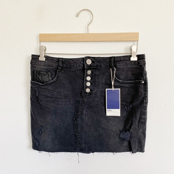 Zara Denim Skirt NWT Large