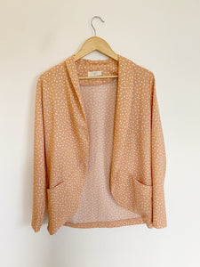 Boutique Elodie Peach Blazer Medium