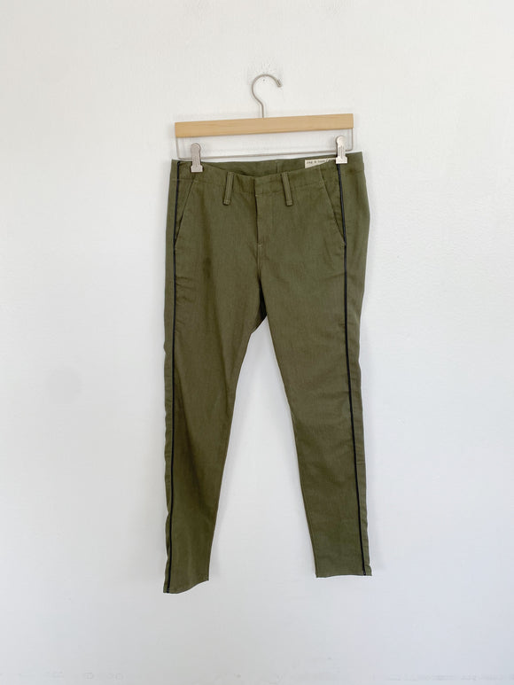 Rag & Bone Army Ollie Pants size 26