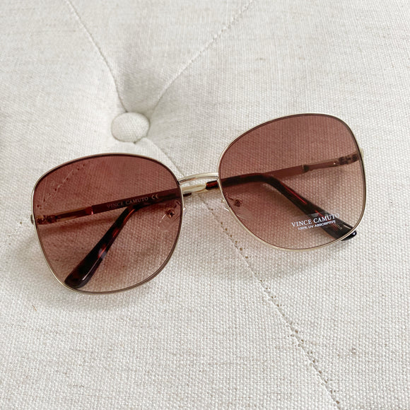Vince Camuto Aviator Sunglasses New