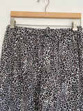 Victoria's Secret Cotton Leopard Pajama Pants Medium
