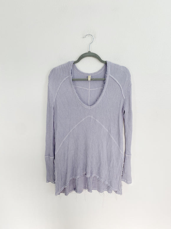 Free People Periwinkle Knit long sleeve XS