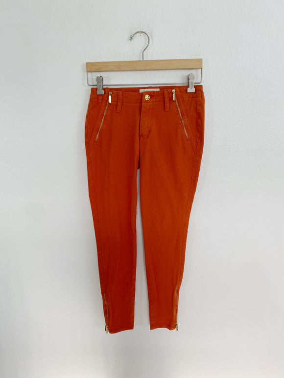 Michael Kors Orange Skinny Pants size 0