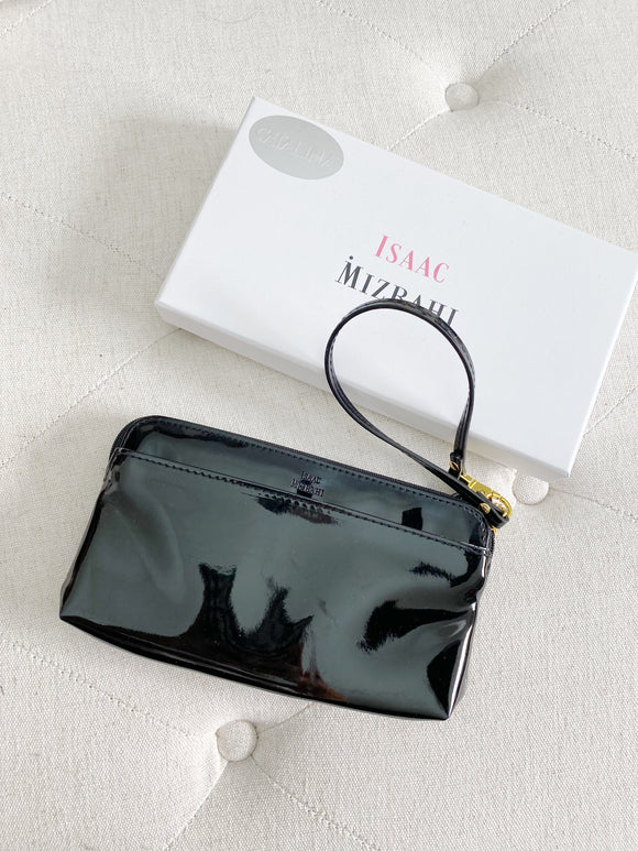 Isaac Mizrahi Patent Leather Clutch NWT