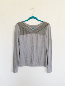 Lululemon Mesh Pullover Long Sleeve